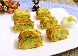 蔬菜鸡蛋卷