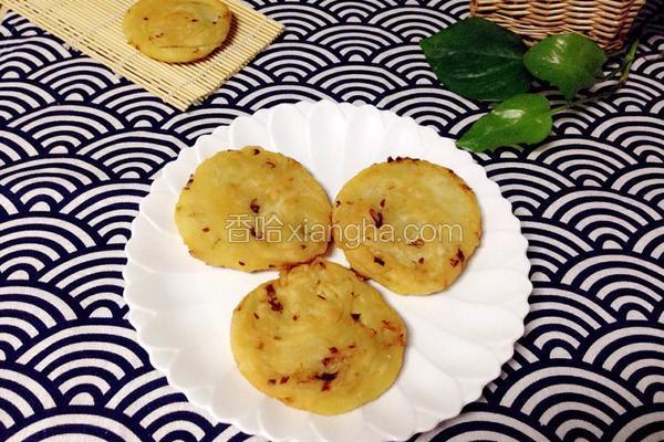 葱油饼(发面)