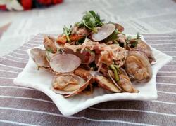 凉拌蛤蜊金针菇