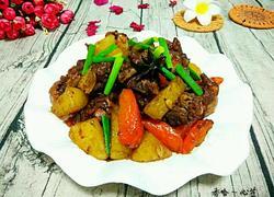 胡萝卜土豆焖鸡腿