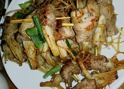 金针菇肉卷
