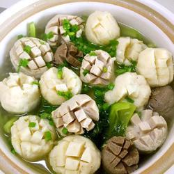 芥菜丸子汤