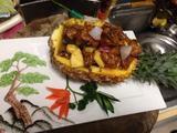 菠萝香鸡船的做法[图]