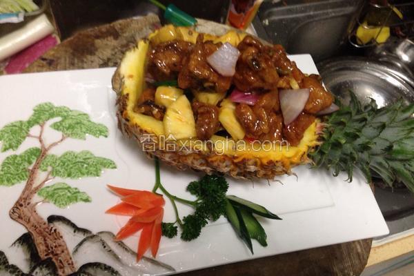 菠萝香鸡船