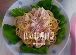 芝士奶油蘑菇培根意面(3人份)