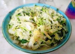 小虾米椰菜花丝