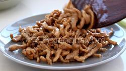 蒜苔炒肉的做法图解18