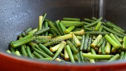 蒜苔炒肉的做法图解24