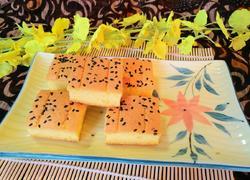 南瓜方块蛋糕