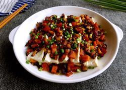 香菇蒸豆腐