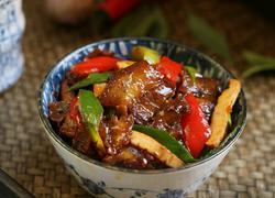 豆豉香干回锅肉
