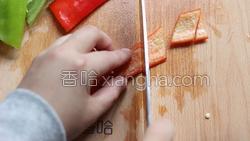 豆豉香干回锅肉的做法图解2