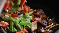豆豉香干回锅肉的做法图解32
