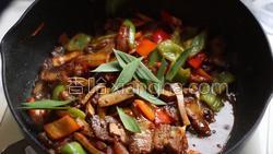 豆豉香干回锅肉的做法图解33
