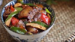 豆豉香干回锅肉的做法图解36