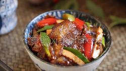 豆豉香干回锅肉的做法图解37