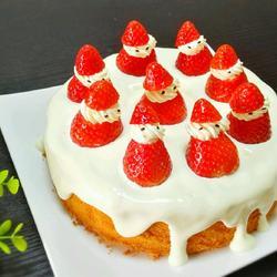 熔岩草莓蛋糕