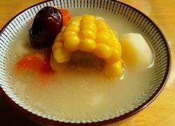淮山玉米猪骨汤