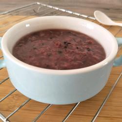紫米大米粥的做法[图]