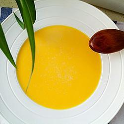 牛奶南瓜羹#年夜饭甜品的做法[图]
