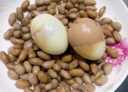 五香茶叶蛋花生米