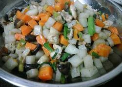沙葛胡萝卜炒肉粒