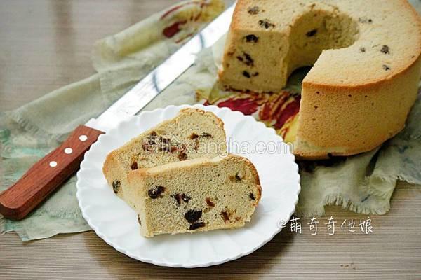红糖桂圆戚风蛋糕