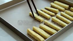 椰蓉烤红薯条的做法图解9