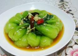 蒜蓉蚝油炒油菜