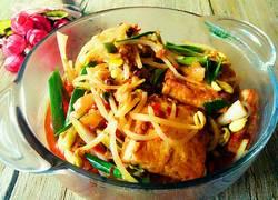 豆芽烩豆腐