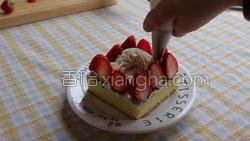 草莓蛋糕的做法图解29