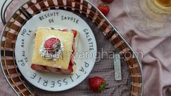 草莓蛋糕的做法图解33