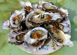 蒜蓉蒸牡蛎