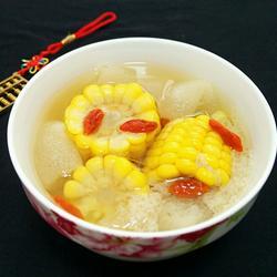 竹荪玉米汤
