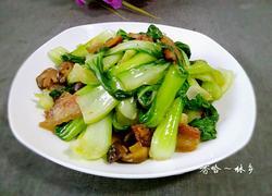 香菇炒小白菜