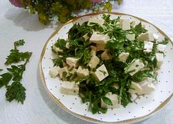 花椒芽拌豆腐