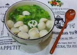 青菜鱼丸子汤