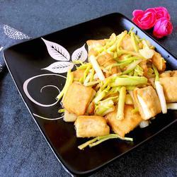 高尔菜烧豆腐