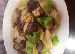 香菇青椒炒鸡块