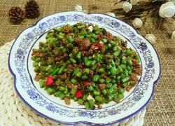 豆豉肉末豆角