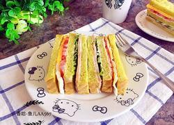 菠菜吐司三明治