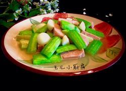 午餐肉烩丝瓜