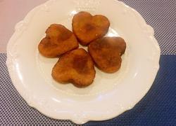 南瓜紫薯糯米饼