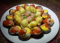 鲜虾烩蘑菇