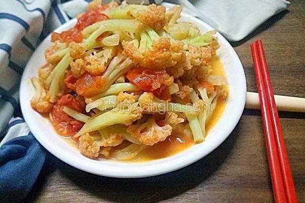 番茄炒椰菜花