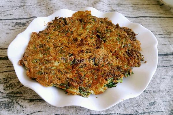 香椿煎蛋饼