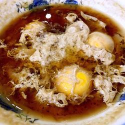 红糖老酒炖蛋