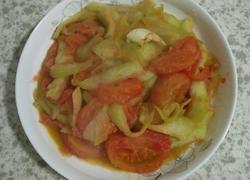 西瓜皮炒西红柿