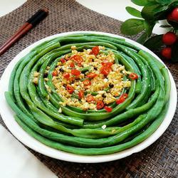 蒜香豇豆的做法[图]