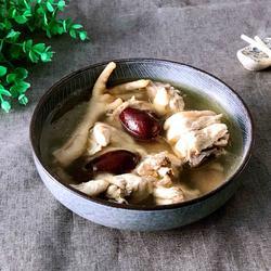 红枣天麻炖鸡